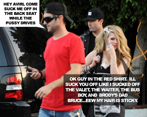 avril Lavigne Cheats on Brody