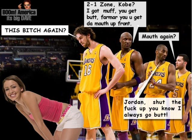 Lakers 2-1 Zone