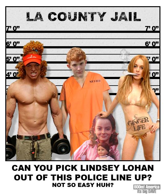 lindsey lohan police line up